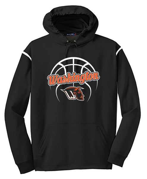 Washington Basketball 2018 DriFit Hooded Sweatshirt