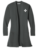GRH Ladies Long Pocket Cardigan