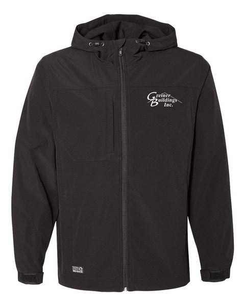 Greiner Buildings Apex Hooded Soft Shell Jacket