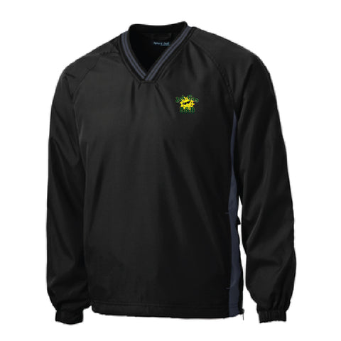 Jet Gas B&B V-Neck Raglan Windbreaker