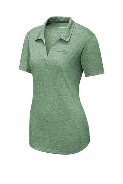 Hearth & Home Spring 2019 Ladies Sport-Tek PosiCharge Tri-Blend Wicking Polo