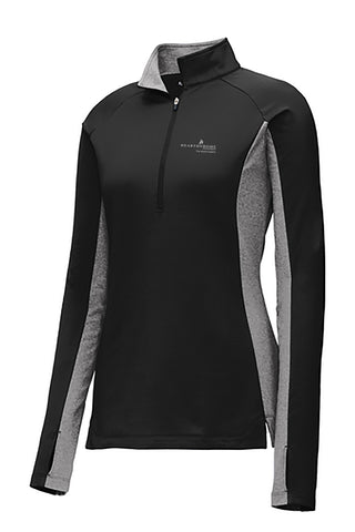 Hearth & Home Spring 2019 Ladies Sport-Tek Sport-Wick Stretch Contrast 1/2-Zip Pullover