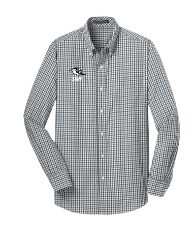 MEPO Staff Gingham Button Down