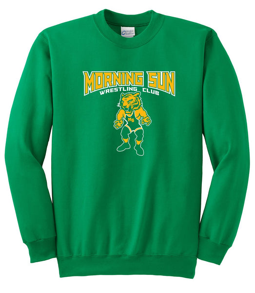 Morning Sun Wrestling Crewneck Sweatshirt