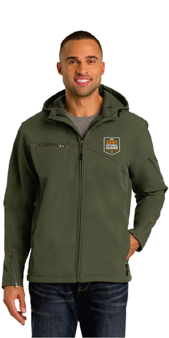 National Guard 2020 Hooded Softshell Jacket