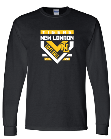 New London Softball Longsleeve TShirt
