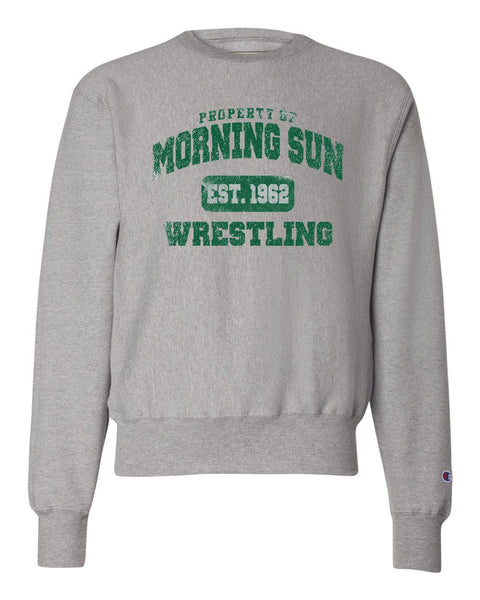 Morning Sun Wrestling Youth Crewneck