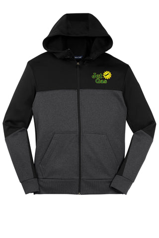 Jet Gas Full Zip DriFit Hooded Sweatshirt