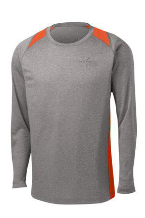 Hearth & Home Contender Colorblock Long Sleeve Dri-Fit