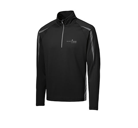 Hearth & Home Spring 2019 Sport-Tek Stretch 1/2-Zip Colorblock Pullover