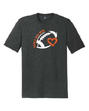 Washington FB Heart Triblend Softstyle Tee