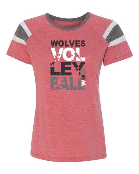 WMU Volleyball 2018 Ladies T