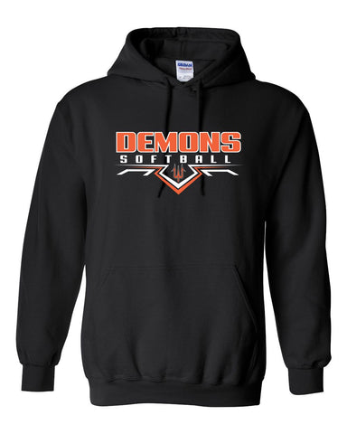 Washington Softball 2019 Hooded Sweatshirt