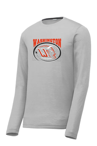 Washington Basketball 2018 Longsleeve Cotton-Feel Drifit