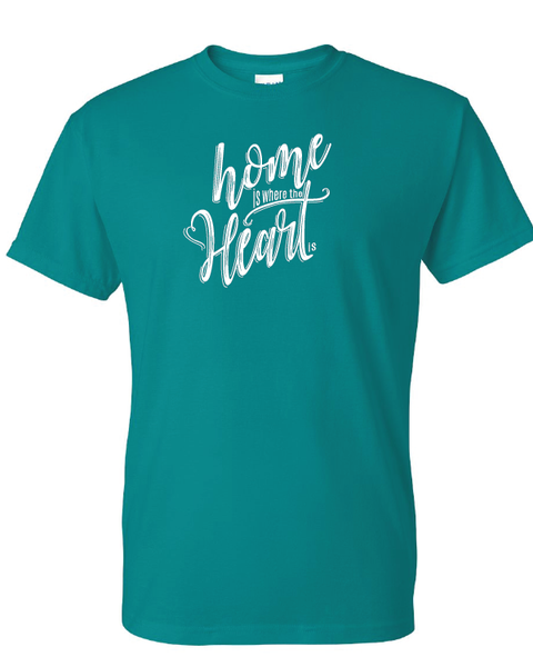 Home is Where the Heart Is Tshirts Jade Dome