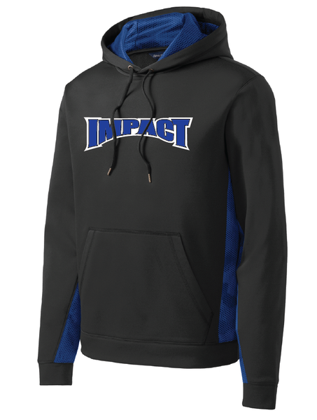 IMPACT Fleece Colorblock Hooded Pullover