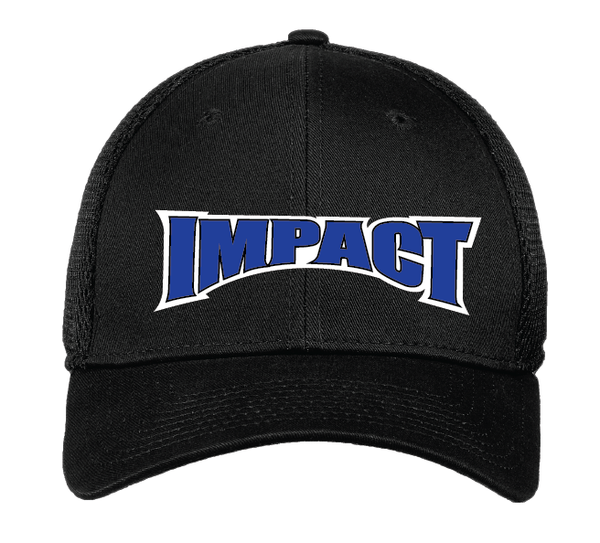 IMPACT Black Fitted Cap