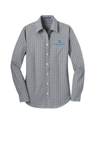 Innovairre Long Sleeve Gingham Easy Care Shirt