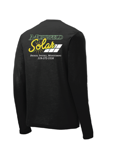 Mohrfeld Solar Long Sleeve Competitor Cotton Touch Tee