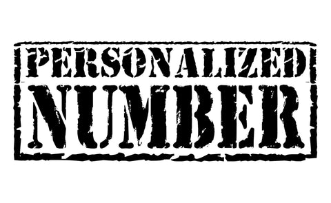 PERSONALIZED NUMBER