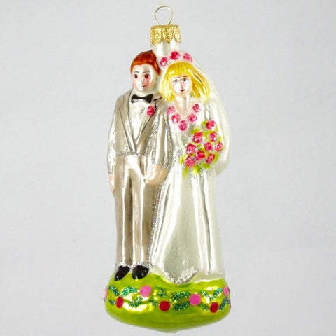 Wedding Couple Christmas Ornament - www.giftsbykasia.com - 1