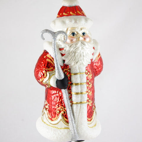 Large Russian Santa Christmas Ornament - www.giftsbykasia.com - 1