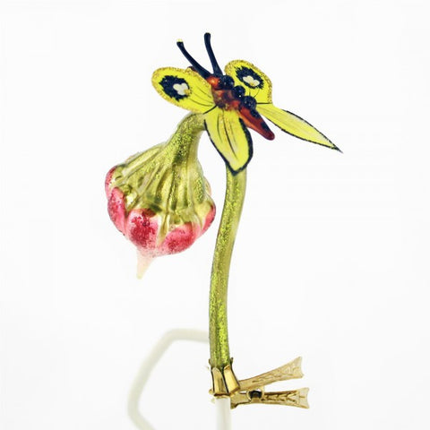 Beautiful Butterfly and Bud Ornament - www.giftsbykasia.com - 1