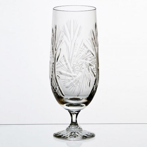 Tall Silesia Crystal Diamond Color Long Drink - Gifts by Kasia