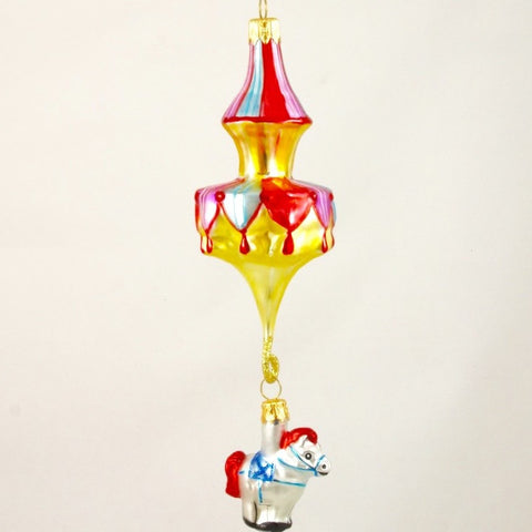 Carousel with Horse Christmas Ornament - Gifts by Kasia - 1