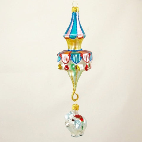 Carousel with Elephant Christmas Ornament - www.giftsbykasia.com - 1