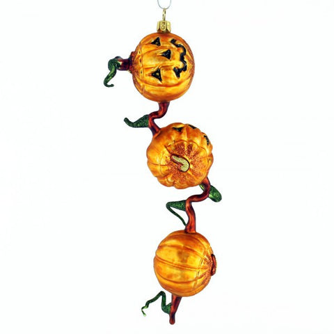 Jackolantern Trio Christmas or Halloween Ornament - Gifts by Kasia - 1