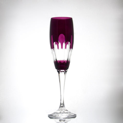 Crystal Alexandrite Champagne Flute - Gifts by Kasia - 1