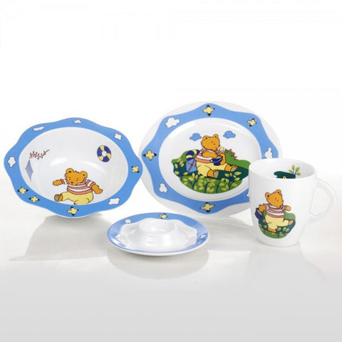 Child's Fine China Porcelain Set, Bear - Gifts by Kasia - 1