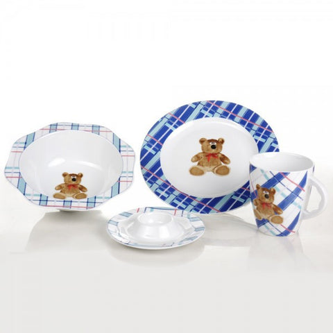 Child's Fine China Porcelain Set, Teddy Bear - Gifts by Kasia