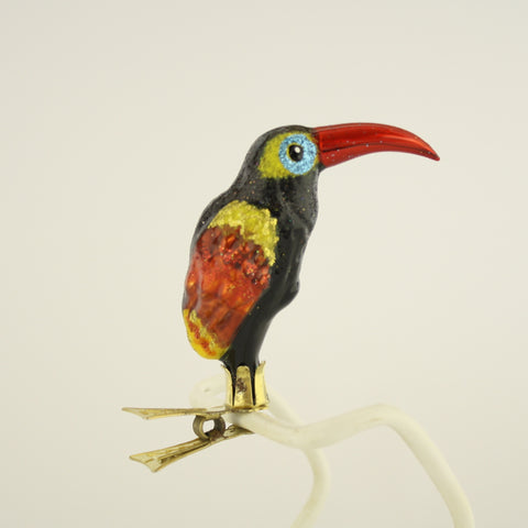 Toucan clip Christmas Ornament - www.giftsbykasia.com - 1