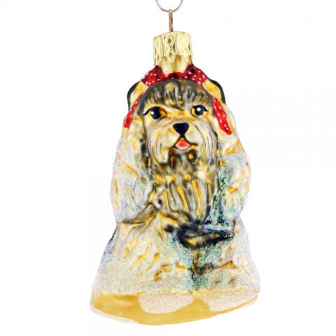 Little Dog Christmas Ornament - www.giftsbykasia.com