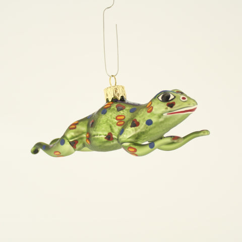 Leaping Frog Christmas Ornament - www.giftsbykasia.com - 1