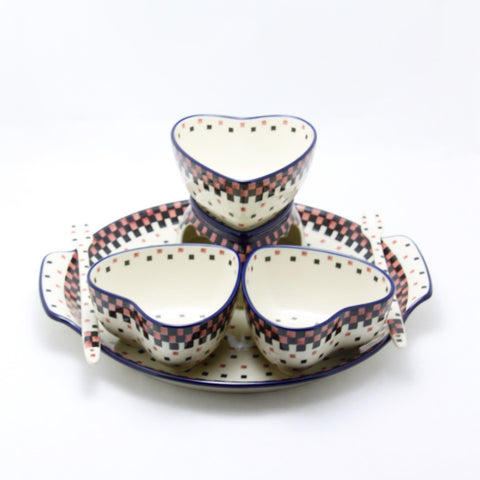 Handmade Ceramic Fondue Set - Gifts by Kasia - 1