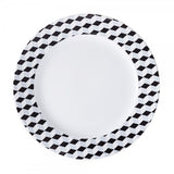 Dinner Plate Black Diamond Pattern  Mix-N-Match - Gifts by Kasia - 1