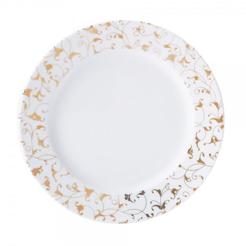 Dinner Plate Gold Orient Pattern  Mix-N-Match - Gifts by Kasia - 1