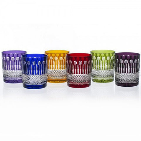 Mixed Color Tumbler Crystal Set - Gifts by Kasia
