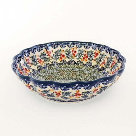 Handmade Ceramic Berries Nesting Bowl, Large - Gifts by Kasia
