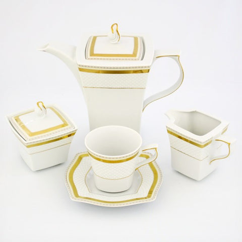 Coffee/Tea Set, 12 Place Settings  Lwow Design - Gifts by Kasia - 1
