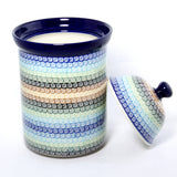 Handmade Ceramic Jar with Lid - Gifts by Kasia - 2