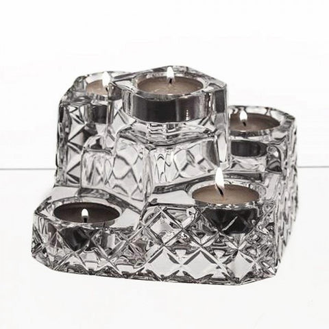 Patrio Crystal Candle Holder - Gifts by Kasia