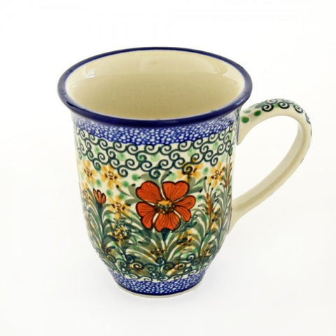 Handmade Ceramic Garden Butterfly Large Mug - Gifts by Kasia