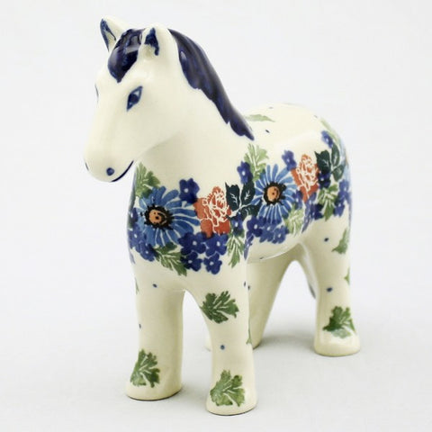 Handmade Ceramic Horse Figurine - Gifts by Kasia