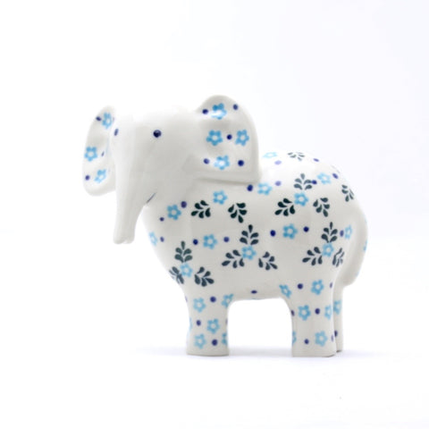 Handmade Ceramic Elephant Figurine - Gifts by Kasia - 1