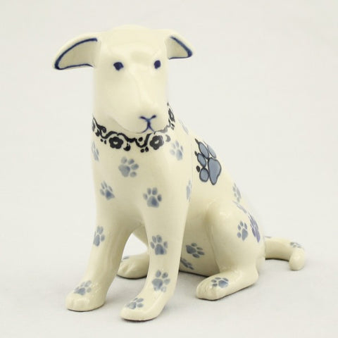 Handmade Ceramic Hooey the Dog Figurine - Gifts by Kasia