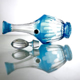 Aqua Blue Crystal Liquor Decanter - Gifts by Kasia - 4